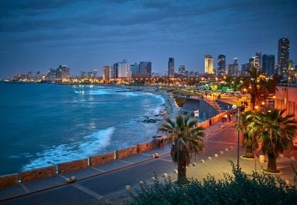 Vue de Jaffa sur Tel Aviv, la ville qui ne dort jamais