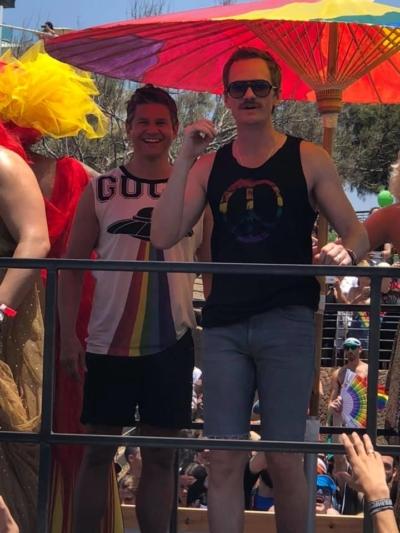 Neil Patrick Harris participe a la Gay Pride Tel Aviv 2019