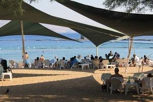 Plage Dolphin Reef a Eilat