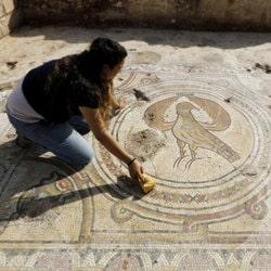 Découverte lors de fouilles archéologiques d'une église byzantine à Bet Shemesh en Israël