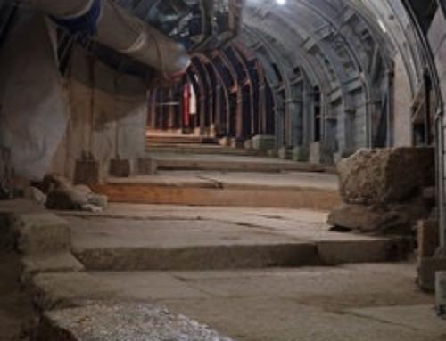 Ponce Pilate : construction d'une rue menant vers le temple de Jérusalem?