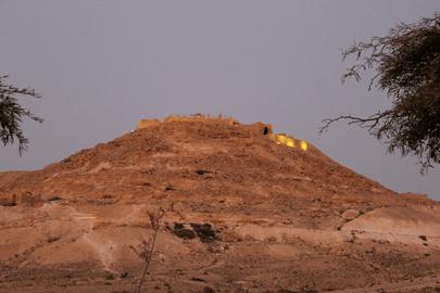 Avdat se situe à quelques kilomètres des canyons d'Ein Avdat
