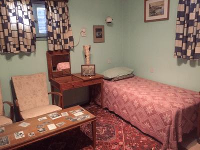 Chambre de David Ben Gourion dans sa maison de Sde Boker dans le Negev