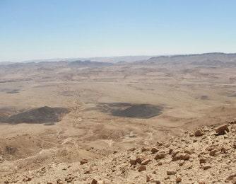 Makhtesh Ramon appelé aussi cratère Ramon dans le Negev