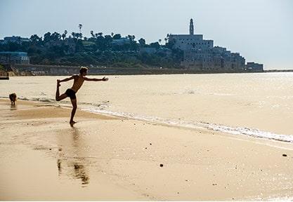 La pratique du Yoga est très appréciée des israeliens
