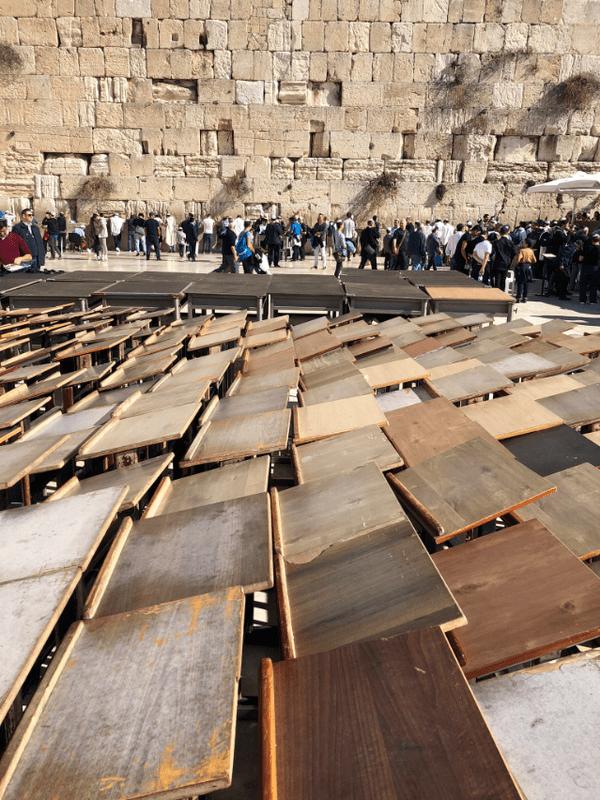 Mur des Lamentations (ou Kotel) lieu le plus sacré pour le judaïsme