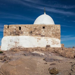 Site du tombeau d'Aaron en Jordanie
